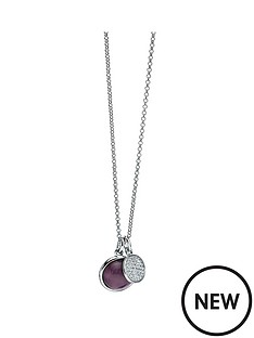 fiorelli-fiorelli-sterling-silver-amethyst-cabouchon-and-pave-cubic-zirconia-double-pendant