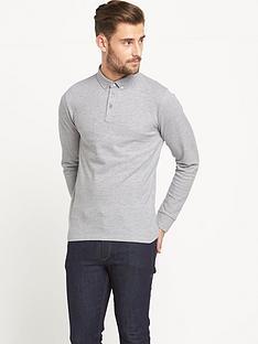 goodsouls-long-sleeve-piquenbsppolo-shirt