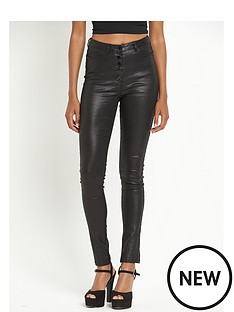 south-stevie-vinyl-coated-highwaisted-skinny