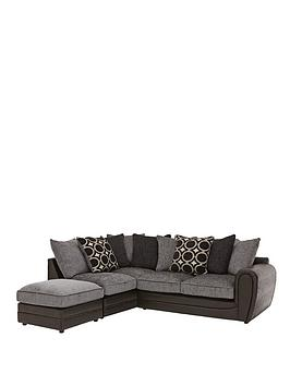 Very Bardot Left-Hand Scatterback Corner Chaise Sofa Picture