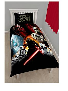 star-wars-star-wars-poster-panel-duvet-cover-and-pillowcase-set-in-single-size