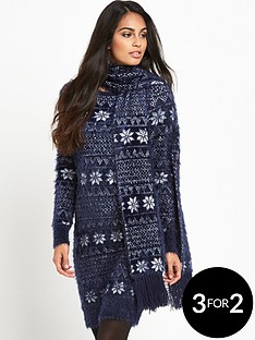 south-christmas-eyelashnbspfair-isle-dress-with-scarf