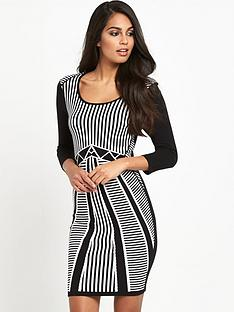 v-by-very-jacquard-bodycon-dress