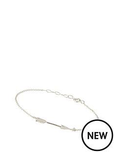 love-silver-sterling-silver-arrow-bracelet