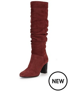 vero-moda-connie-suede-slouch-knee-boot