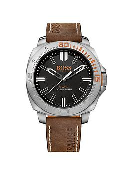 hugo-boss-black-dial-brown-leather-strap-gents-watch
