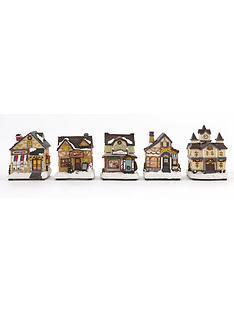 set-of-5-led-christmas-village-houses