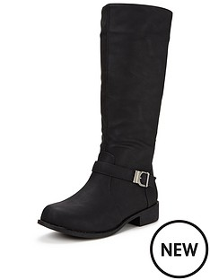 shoe-box-violetta-elastic-riding-boot-with-metal-trim-detail-extra-wide-fit