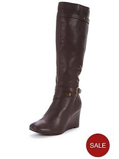 shoe-box-knee-high-wedge-bootnbsp