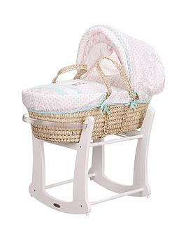 Minnie Mouse Moses Basket And Rocking Stand
