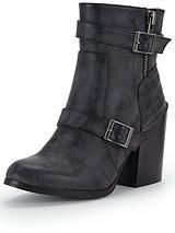 Hamden Buckle Ankle Boot