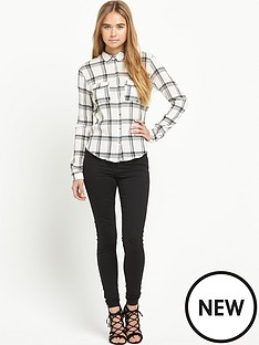 river-island-checked-long-sleeve-shirt