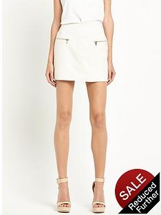 river-island-zip-front-pelmet-skirt