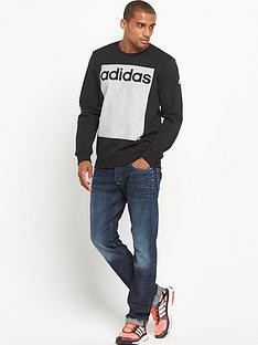 adidas-adidas-linear-3s-crew-neck-sweat