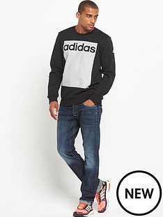adidas-adidas-linear-3s-crew-neck-sweat