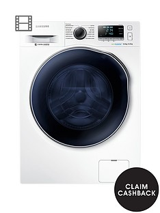 samsung-samsung-wd90j6410aweu-9kg-wash-1400-spin-6kg-dry-washer-dryer-with-ecobubbletrade-technologynbsp--next-day-delivery-white