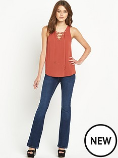 river-island-eyelet-sleeveless-top