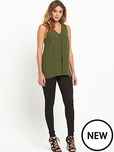 river-island-zip-front-sleeveless-top