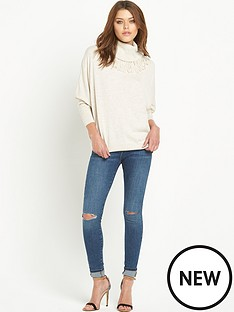 river-island-tassel-knitted-roll-neck-jumper
