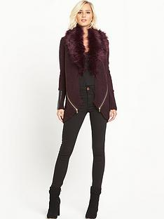 river-island-faux-fur-cardigan