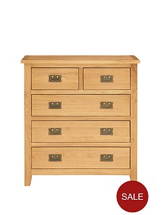 london-ready-assembled-3-2-drawer-solid-oak-chestnbsp