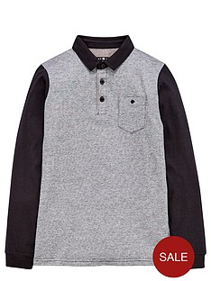 demo-boys-long-sleeve-yarn-dyed-polo-shirt