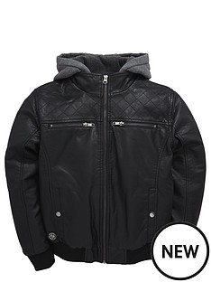 demo-boys-pu-bomber-with-sweat-hood