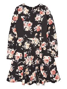freespirit-girls-long-sleeve-floral-prom-dress