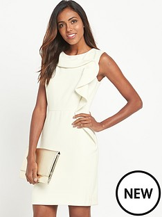 v-by-very-cream-frill-dress