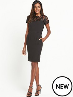 v-by-very-lace-yoke-shift-dress