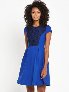 south-lace-overlay-skater-dress