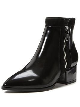 shoe-box-rhea-low-block-heel-point-boot-with-zip