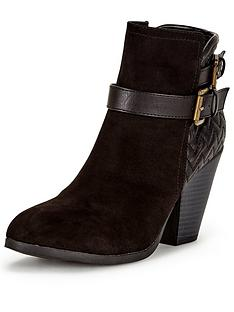 shoe-box-nara-quilt-back-heeled-buckle-boot-black