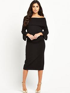 coast-coast-pippen-bardot-knit-dress