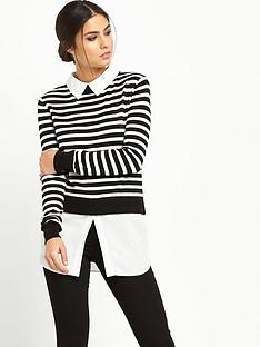 oasis-oasis-stripe-2-in-1-shirt-tales-jumper
