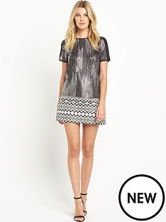 oasis-foil-textured-t-shirt