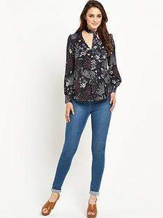 wallis-woodland-tie-print-top