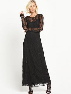 miss-selfridge-embroidered-lace-maxi-dress