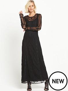 miss-selfridge-embroidered-lace-maxi-dress