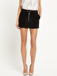 miss-selfridge-suede-shorts