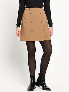 miss-selfridge-a-line-button-skirt