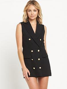 miss-selfridge-miss-selfridge-tuxedo-playsuit