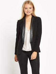 miss-selfridge-miss-selfridge-tux-pu-jacket-black