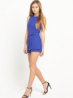 miss-selfridge-belted-playsuit