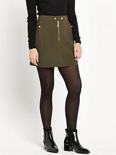 miss-selfridge-miss-selfridge-military-skirt