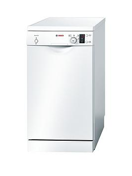 Bosch Sps40E12Gb 9Place Slimline Dishwasher  White