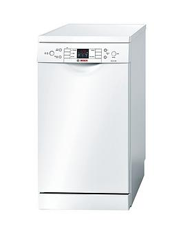 Bosch Sps53M02Gb 9Place Slimline Dishwasher  White