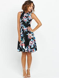 myleene-klass-split-strap-scuba-dress