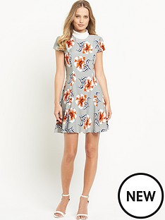 definitions-definitions-high-neck-printed-dress