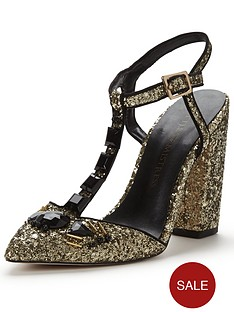 little-mistress-block-heel-glitter-shoe